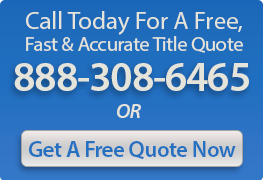 Title Agency Quote